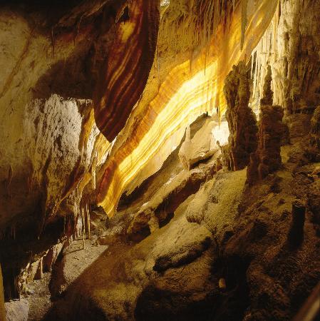 Coves del Drac (Drachenhöhlen): Bandera