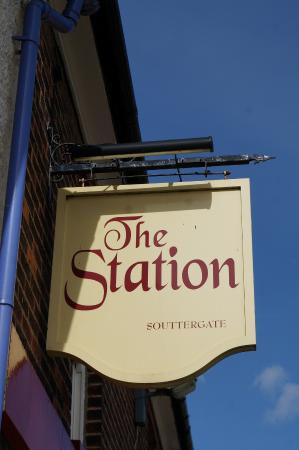 Hedon, UK: The Station Public House, taken on 30-3-2015