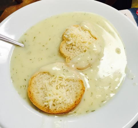 Chef John's Bakery & Cafe: Dill Havarti Soup