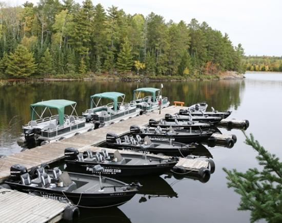 Crane Lake, MN: New rental boats to choose from