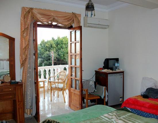 El Mesala Hotel: Room 202 with Nile view