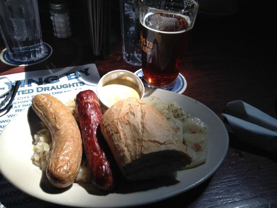 Flying Saucer: Yummy German Plate