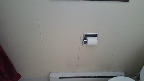 Naomi Village Cottages Resort: bathroom wall