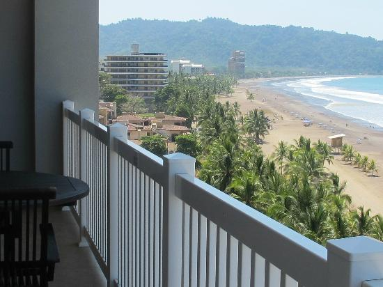 The Palms Jaco: The beach view from - The Palms unit 901