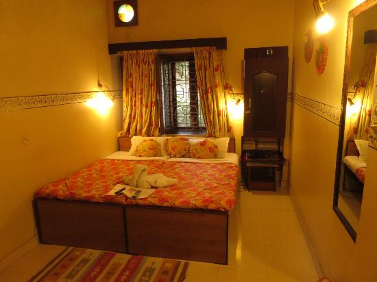 Sunder Palace Guest House: Our Room for 500 rupees