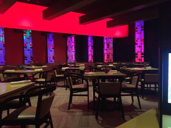 Yolos - Planet Hollywood Las Vegas : The dining room
