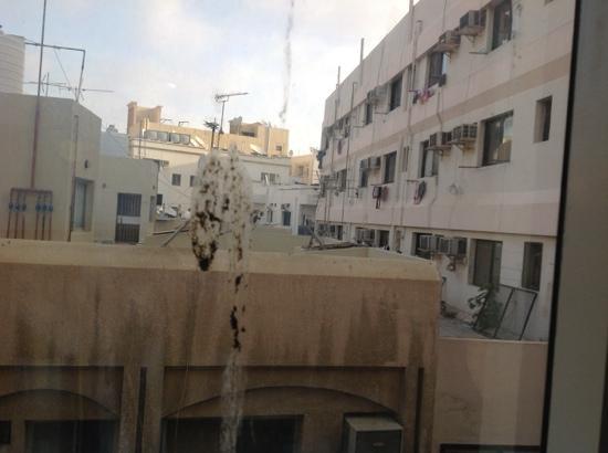Marmaray Hotel: vue de la chambre 4016