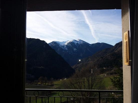 Hotel La Burna: Vistas desde la habitación.