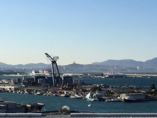 Ibis Budget Marseille l'Estaque: Vue mer