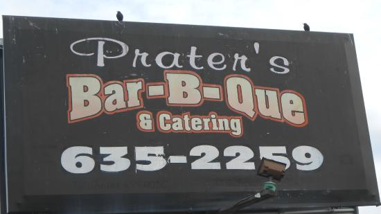 Praters BBQ Manchester: Bar-B-Que, Prater's