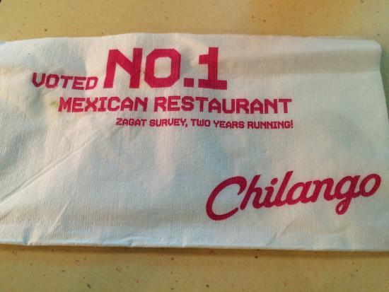 Chilango: tovagliolo