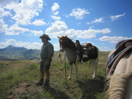 Bokpoort Cowboy Ranch: Christo and his horse