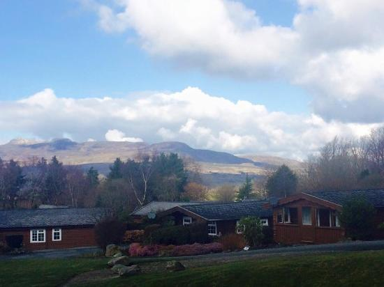 Trawsfynydd Holiday Village: The view from the shop
