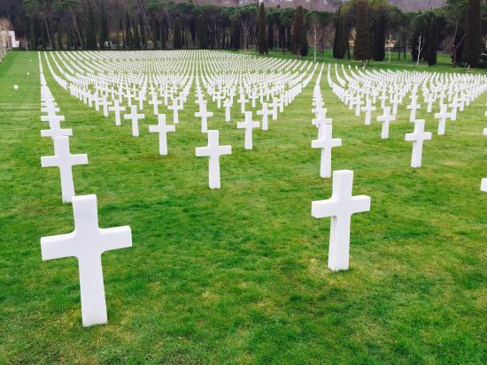 Florence American Cemetery: Cimitero
