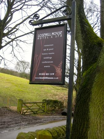 Losehill House Hotel & Spa: Here you are!