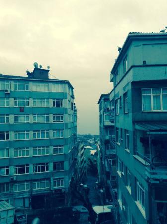 Santa Sophia Hotel: Vista dalla finestra della camera