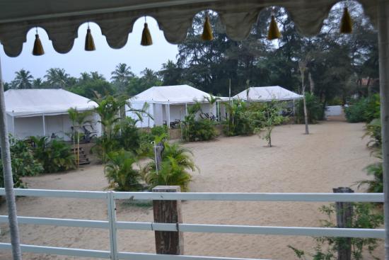Amarya Shamiyana: view from restaurant
