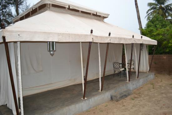 Amarya Shamiyana Maharaja tent & Maharaja tent - Picture of Amarya Shamiyana Mandrem - TripAdvisor