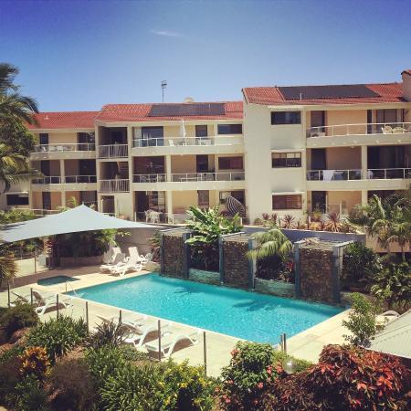 Munna Beach Apartments: Hotel lindo!
