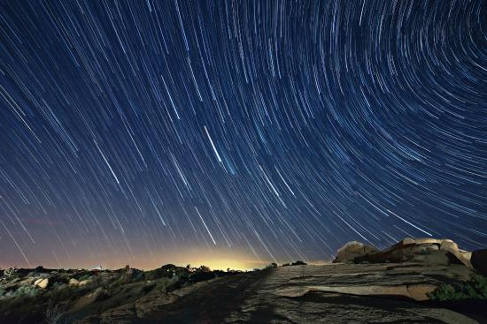 Jumbo Rocks Campground: 5-Billion Star Hotel