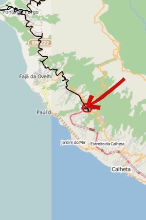 Casa Grelhados Prazeres Rurais: localização no mapa