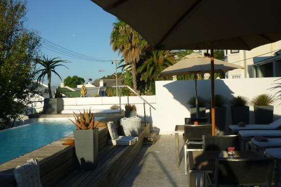 Dysart Boutique Hotel: Frühstück auf der Terrasse