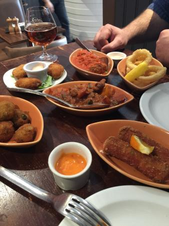 Soprano Tapas & Wine Bar: Fab lunch!
