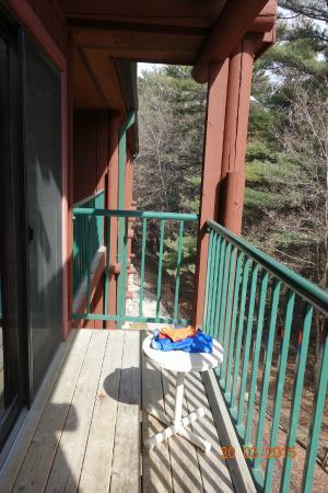 Wilderness Resort: Balcony