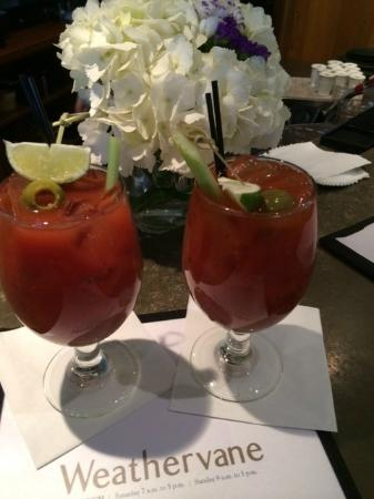 The Weathervane Restaurant: Delicious Bloody Mary