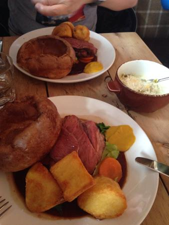 The Pig and Butcher: Sunday roast!