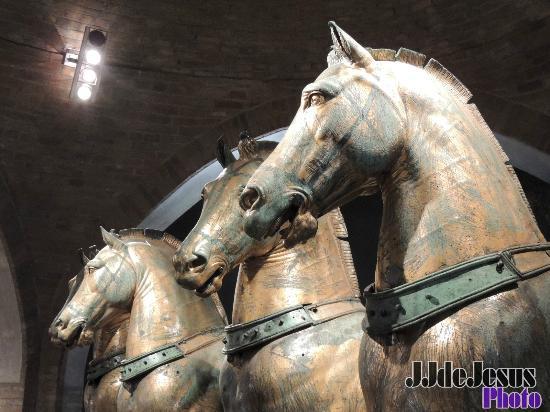 Caballos de San marcos: fotografía de Basílica de San Marcos ...
