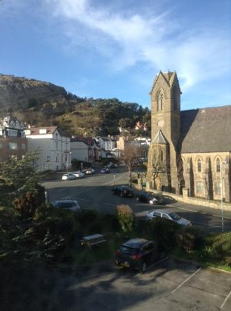 Annan Hotel: View from room 10