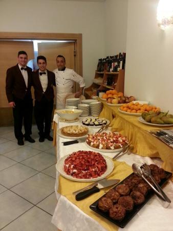 Aragona Palace Hotel: Che cose squisite ! Grazie allo chef Michele ed al suo staff.