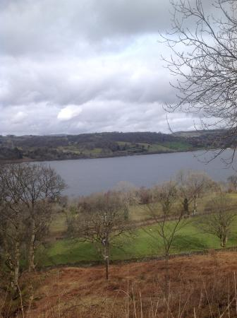 Bryniau Golau: The stunning lake Bala view from our room