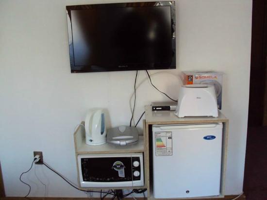 Auckland : Zona de electrodomésticos en la habitación.