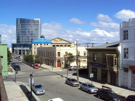 Auckland : Vista desde el balcón.