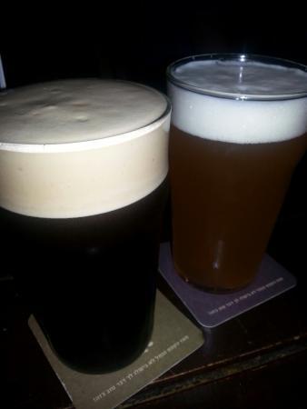 LiBira Brewery Pub: Smoked Stout & Weiss