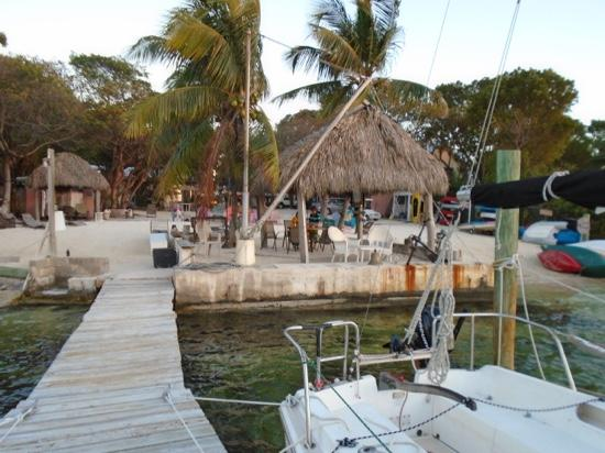 Tiki Hut At Klsc Picture Of Key Lime Sailing Club And