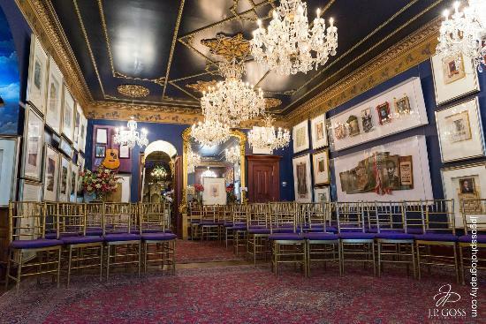 The Mansion on O Street: Ballroom: Photo: J.P. Goss Photography