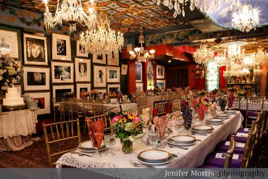 The Mansion on O Street: Private Events: Photo: Jenifer Morris Photography