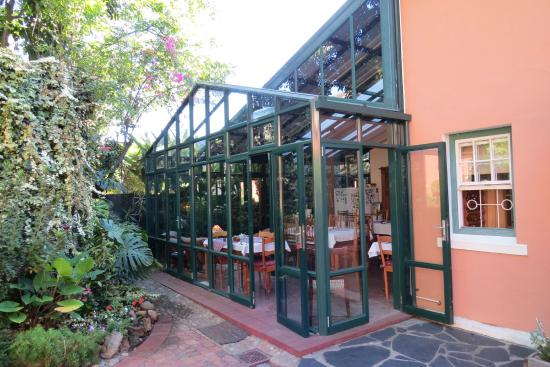 Rodeberg Lodge : The dining area where breakfast is served