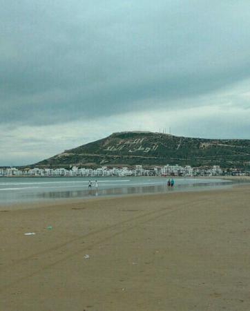 Residence Fleurie: Agadir beach