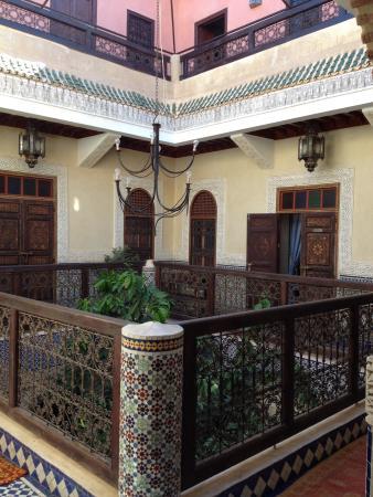 Riad Bab Chems : 1st floor court yard
