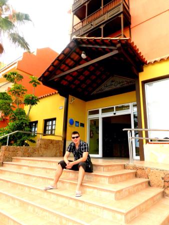 Hotel front, 20th July 2012