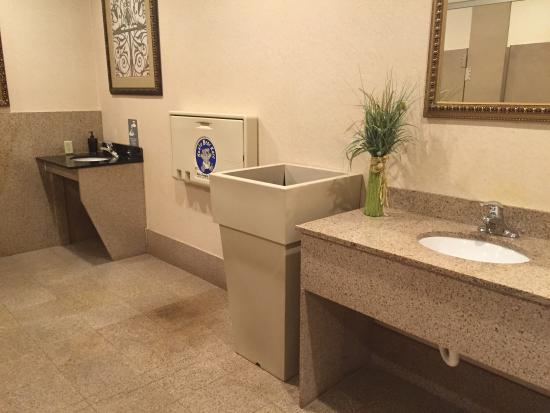 Holiday Inn Express Hotel & Suites Newton Sparta: restrooms