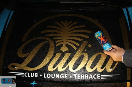Dubaï Club: Sessão de fotos XS Power Drink