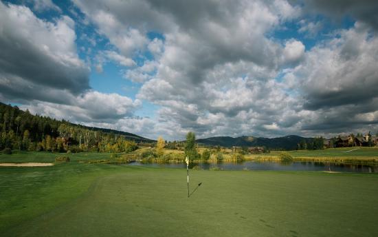 Teton Springs Lodge and Spa: Golf Course