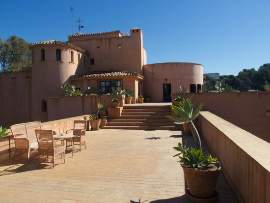 Hotel Castillo de Santa Catalina: rooftop terrace