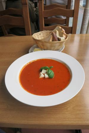 One of the homemade soups of the day