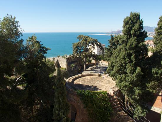 Hotel Castillo de Santa Catalina: View from rooftop terrace